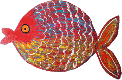 Red Fish Art