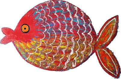 Red Fish Art